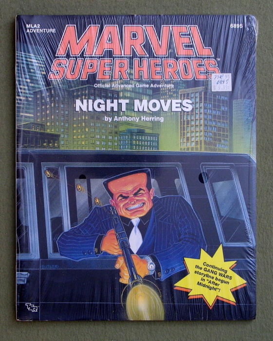 Image for Night Moves (Marvel Super Heroes Module MLA2)