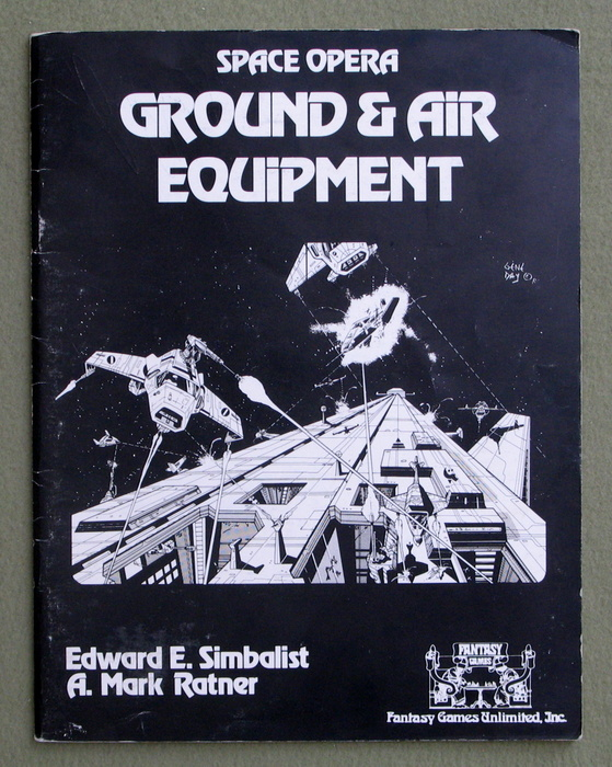 Image for Ground and Air Equipment (Space Opera)