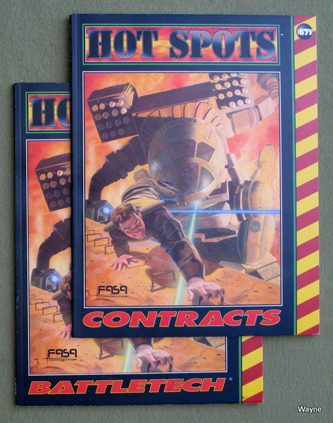 Image for Hot Spots: Contracts (Battletech) [2-book set]