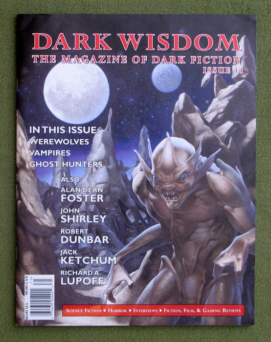 Image for Dark Wisdom: The Magazine of Dark Fiction, Issue 11