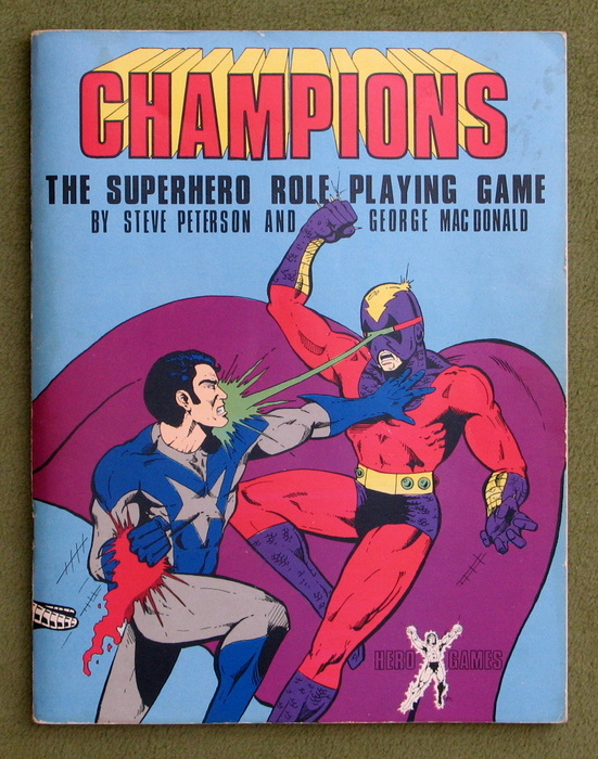 Image for Champions: The Super Hero Role Playing Game (1st Edition)