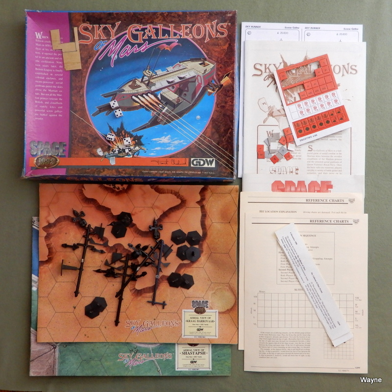 Image for Sky Galleons of Mars (Space: 1889) - PLAY SET