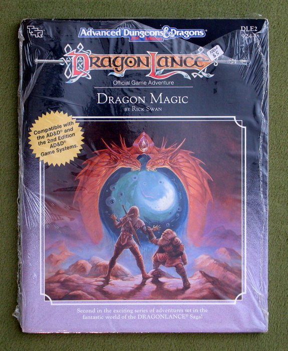 Image for Dragon Magic (Advanced Dungeons & Dragons / Dragonlance Module DLE2)