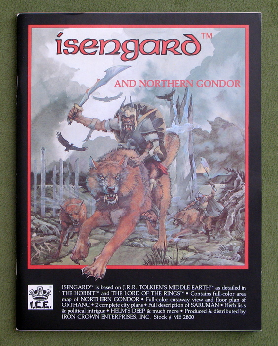 Image for Isengard & Northern Gondor (Middle Earth Role Playing/MERP)
