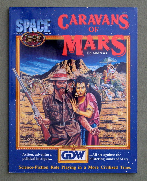Image for Caravans of Mars (Space 1889)
