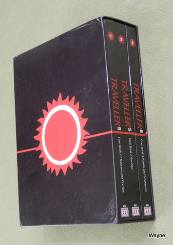 Image for Traveller 5: Core Rules Slipcase