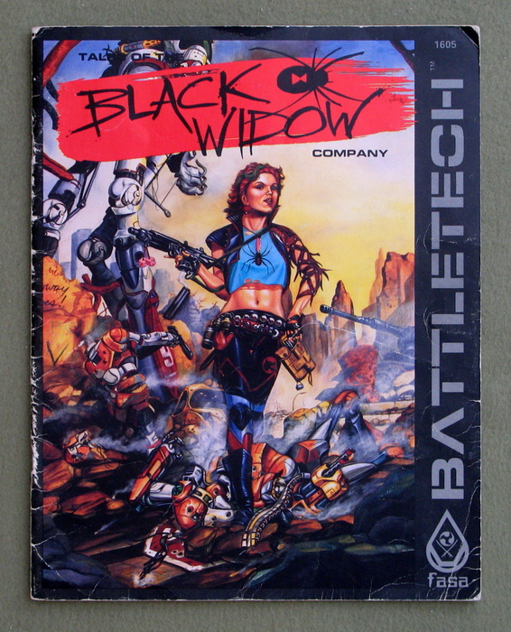 Image for Tales of the Black Widow Company (Battletech) - PLAY COPY