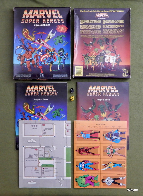 Image for Marvel Super Heroes: Advanced Set