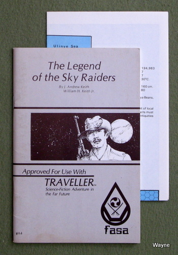 Image for Legend of the Sky Raiders (Traveller RPG)