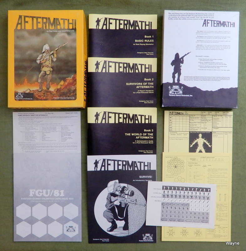 Image for Aftermath! - A Role Playing Game Set in a Post-Holocaust World - PHOENIX GAMES EDITION