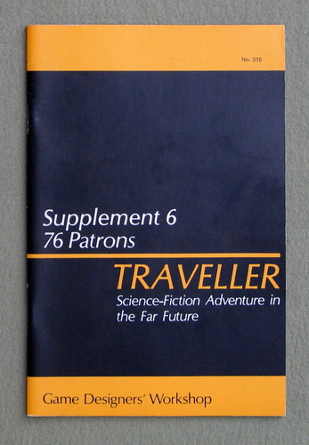 Image for Traveller Supplement 6: 76 Patrons - 1ST PRINT