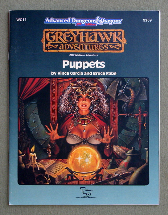 Image for Puppets (Advanced Dungeons & Dragons / Greyhawk module WG11)