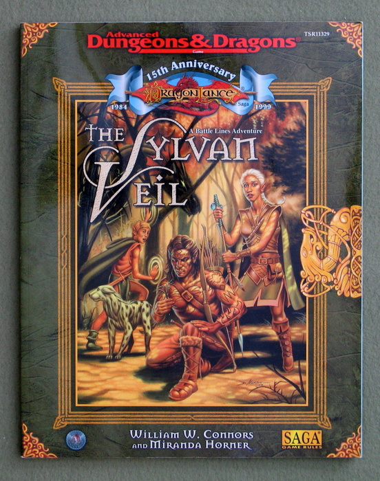 Image for The Sylvan Veil (Advanced Dungeons & Dragons/Dragonlance 5th Age)