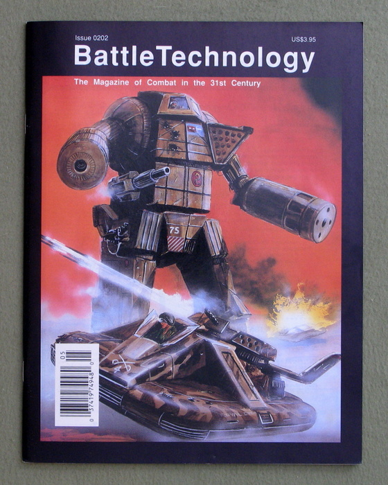 Image for BattleTechnology Magazine, Issue 0202 (Battletech)