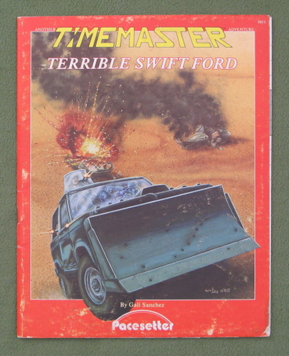 Image for Terrible Swift Ford (A Timemaster Adventure) - PLAY COPY