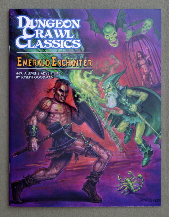 Image for The Emerald Enchanter (Dungeon Crawl Classics #69)