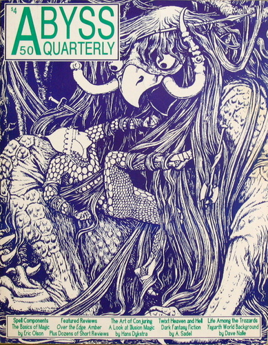 Image for Abyss Quarterly #50 (Winter '92/'93)