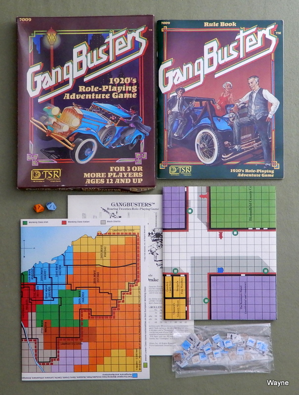 Image for Gangbusters: 1920's Role-Playing Adventure Game