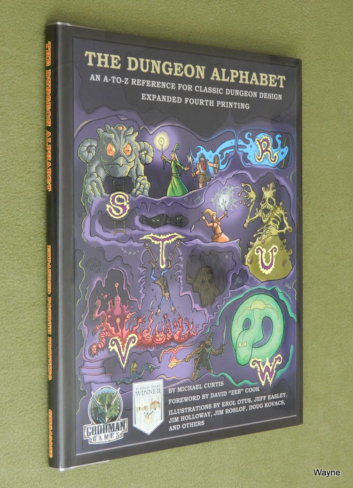 Image for The Dungeon Alphabet (Expanded Fourth Printing)