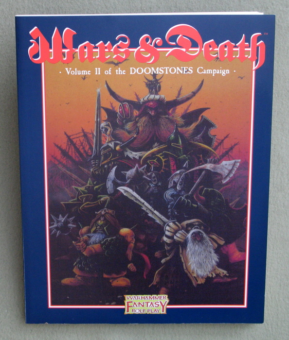 Image for Wars and Death: Doomstones Campaign, Volume 2 (WFRP/Warhammer Fantasy Roleplay)