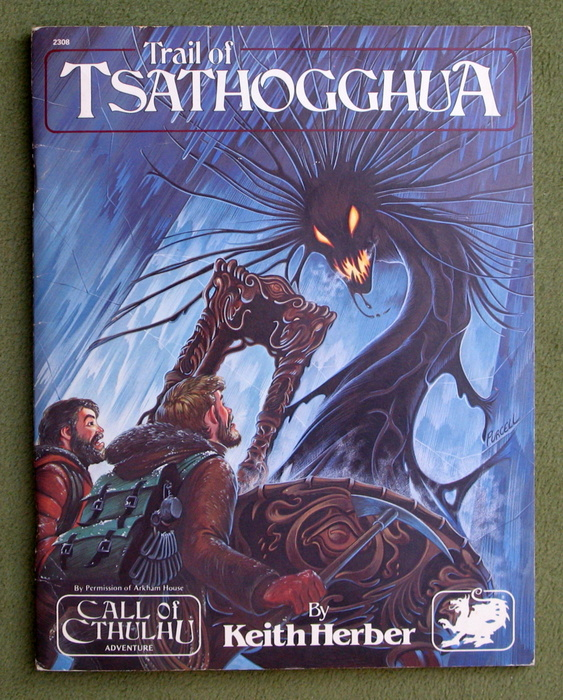 Image for The Trail of Tsathogghua (Call of Cthulhu)