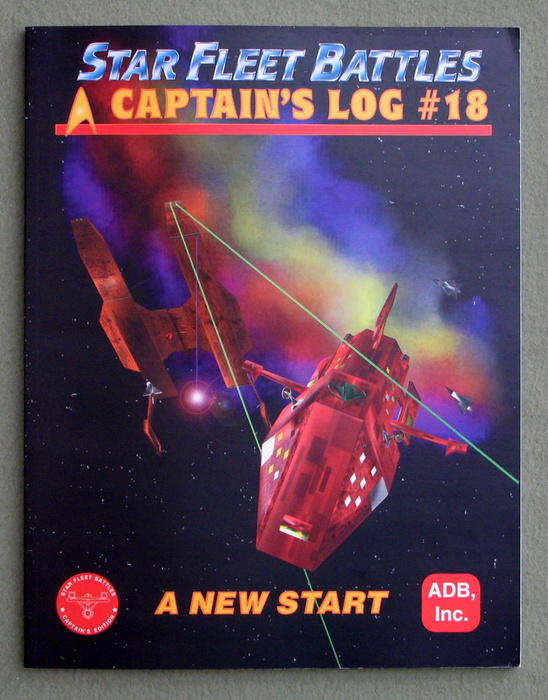 Image for Captain's Log #18 : A New Start (Star Fleet Battles)