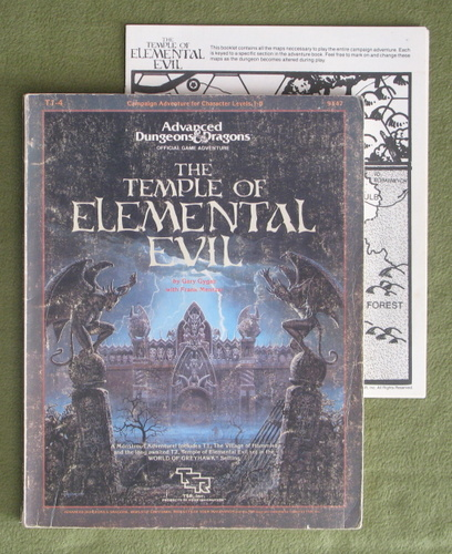 Image for Temple of Elemental Evil (AD&D Supermodule T1-4) - WORN