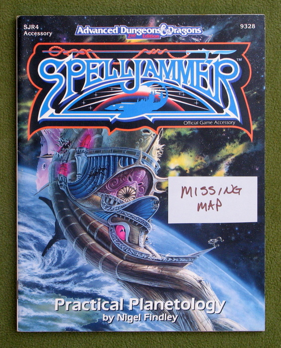 Image for Practical Planetology (Spelljammer Module SJR4) - NO MAP