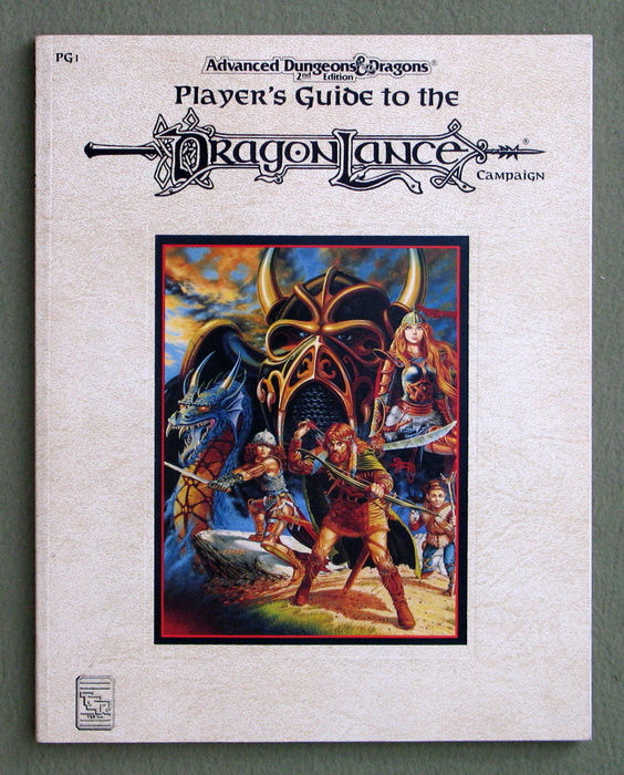 Image for Player's Guide to the Dragonlance Campaign (Advanced Dungeons & Dragons Accessory PG1)