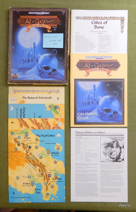 Image for Cities of Bone (AD&D: Al-Qadim) - INCOMPLETE