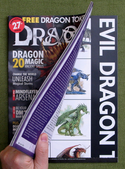 Image for Dragon Magazine, Issue 308