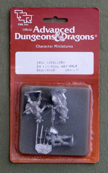 Image for Cavaliers (Advanced Dungeons & Dragons Character Miniatures)