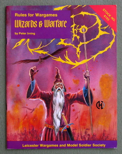 Image for Rules for Wargames: Wizards & Warfare