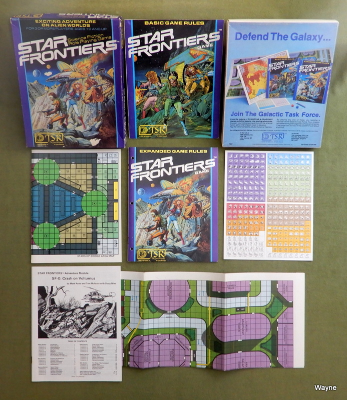 Image for Star Frontiers: Science Fiction Role Playing Game