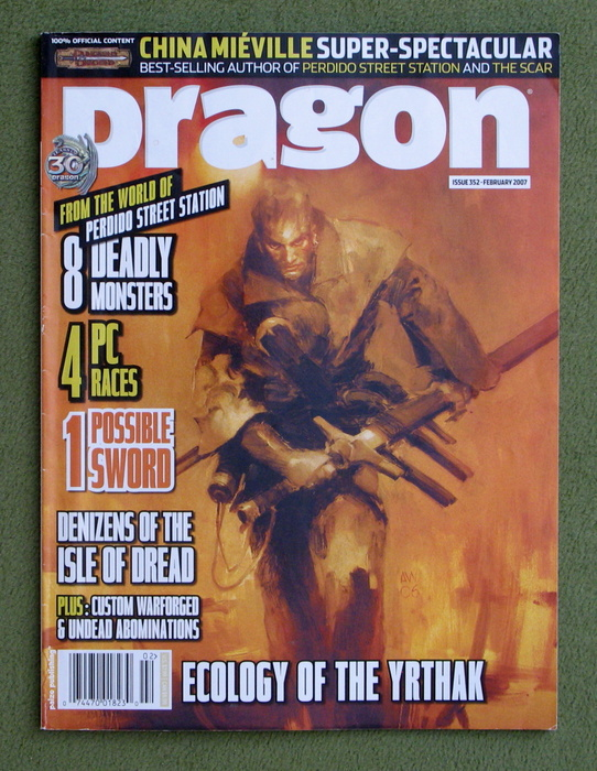 Image for Dragon Magazine, Issue 352