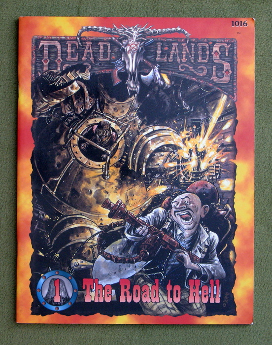 Image for Road to Hell (Deadlands: Devils Tower #1)