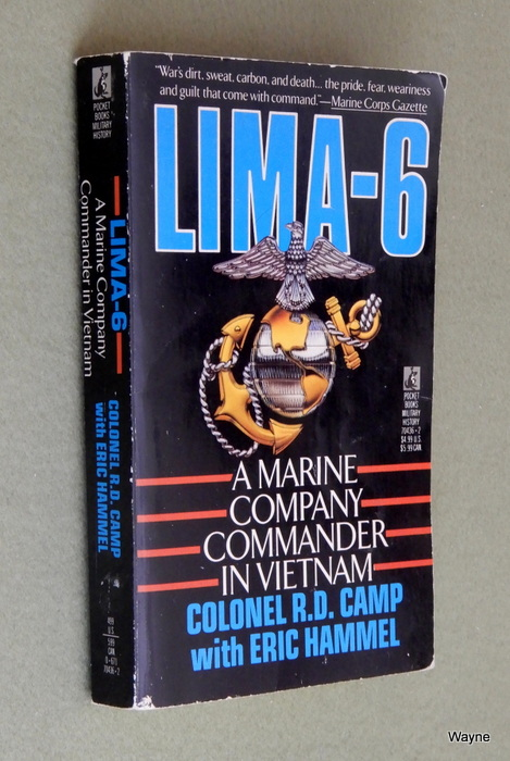 Image for Lima-6: A Marine Company Commander in Vietnam