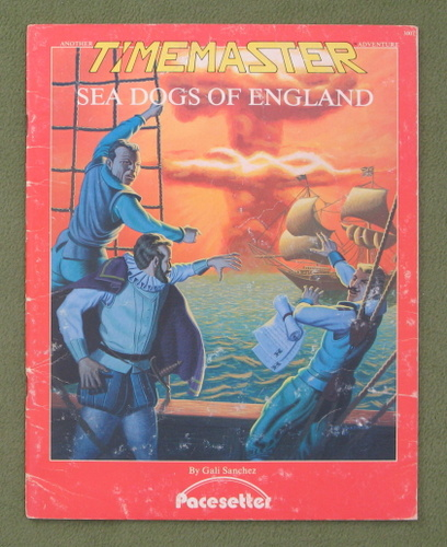 Image for Sea Dogs of England (Timemaster) - PLAY COPY