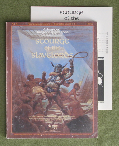 Image for Scourge of the Slavelords (AD&D A1-4) - PLAY COPY