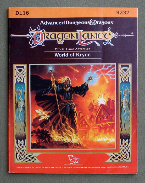 Image for The World of Krynn (Advanced Dungeons & Dragons: Dragonlance Module DL16)