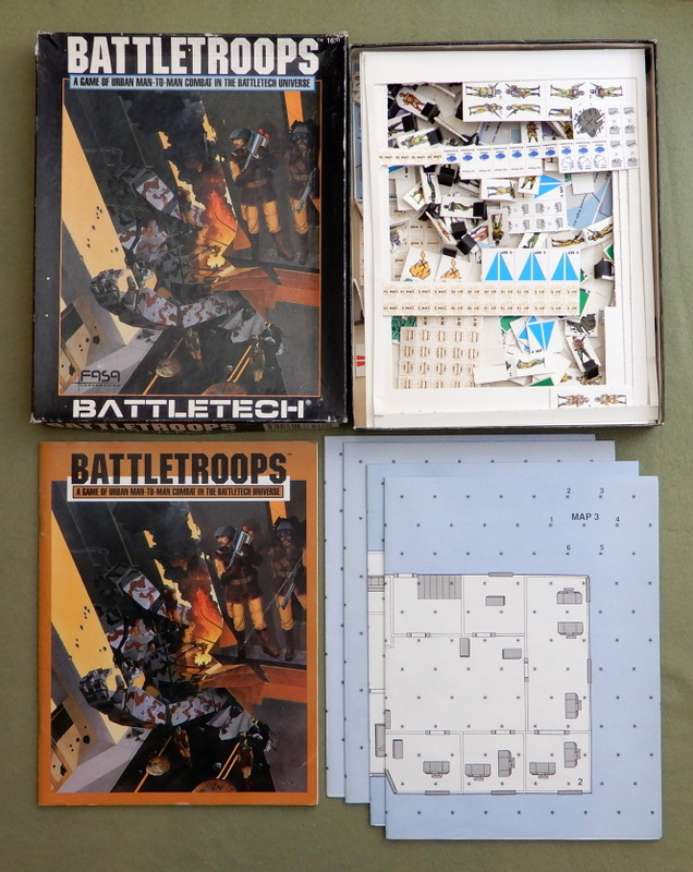 Image for Battletroops: A Game of Urban Man-to-Man Combat in the Battletech Universe - PLAY SET