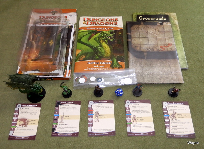 Dungeons and Dragons Miniatures Game - 2 Player Starter Set