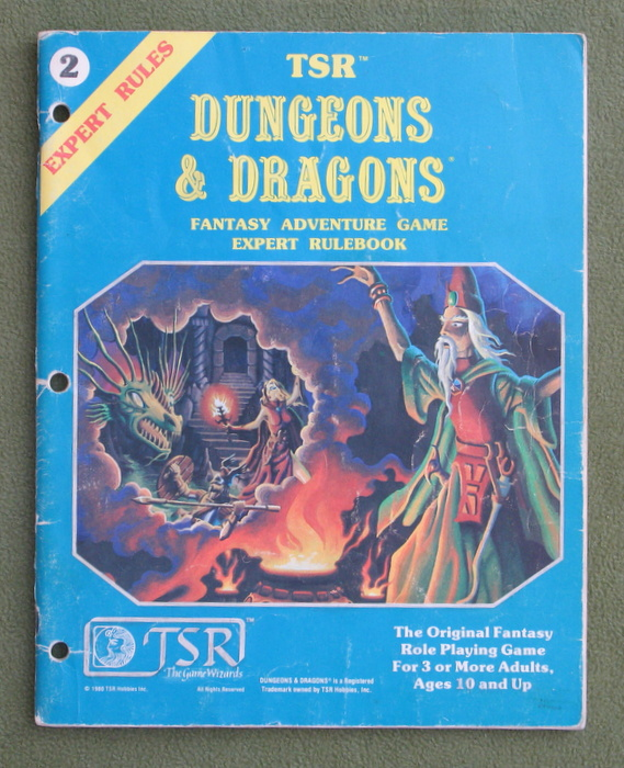 Image for Dungeons & Dragons: Expert Rulebook - PLAY COPY