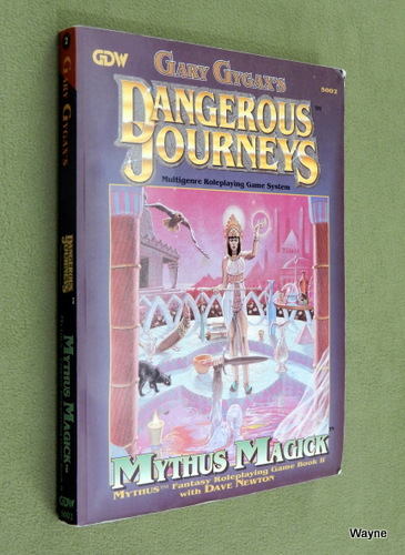 Image for Mythus Magick (Dangerous Journeys) - PLAY COPY