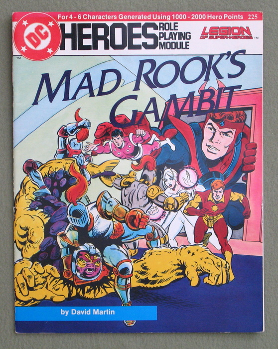 Image for Mad Rook's Gambit (DC Heroes Role Playing Module)