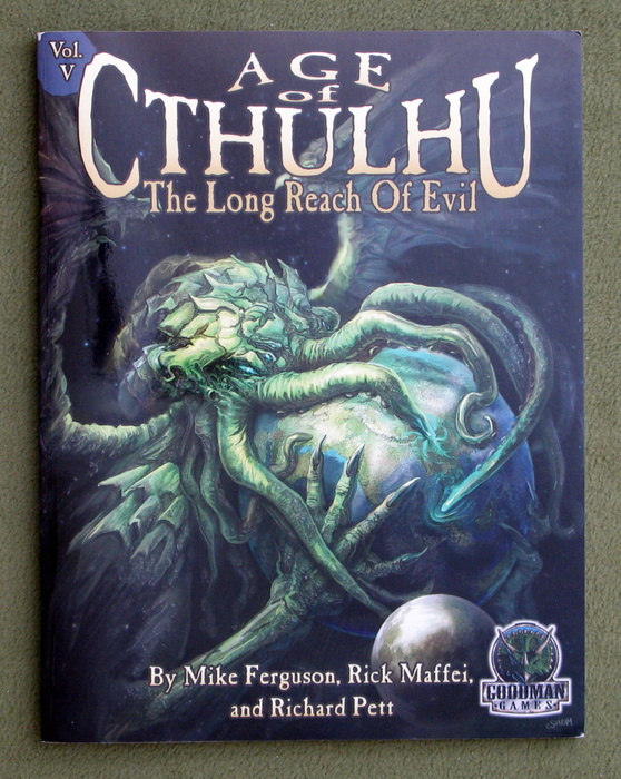 Image for The Long Reach of Evil (Age Of Cthulhu, Vol. 5)