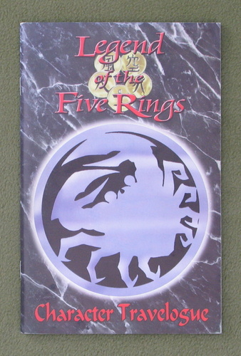 Image for Character Travelogue (Legend of the Five Rings)