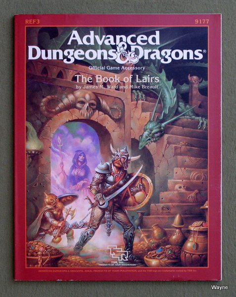 Image for The Book of Lairs (Advanced Dungeons and Dragons Accessory REF3)