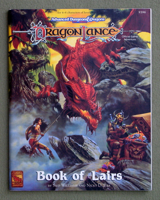 Image for Book of Lairs (Advanced Dungeons & Dragons: Dragonlance)
