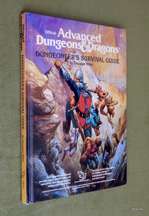 Image for Dungeoneer's Survival Guide (Advanced Dungeons & Dragons/AD&D)